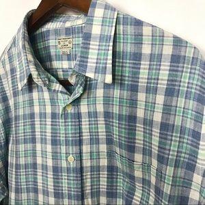 J. Crew Mens Button Up Shirt Size Large